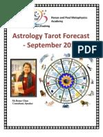 Astro Tarot - September 2013