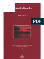 Grammatica Finlandese