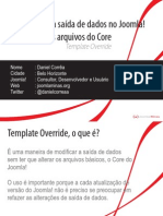 Template Override - CMSBrasil 2009 - Daniel Corrêa