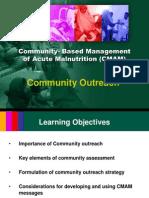 (5) Community Outreach for CMAM