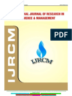 Ijrcm 1 Vol 3 Issue 12 Abstract