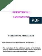 (2) Nutritional Assessment