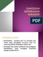PPT Gangguan Kepribadian Paranoid