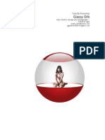 Photoshop Tutorial - Glassy Orb