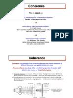 Coherence (statistical optics)
