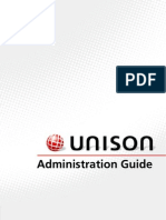 Unison Administration Guide 1.1