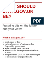 What should data.gov.uk be? with Antonio Acuña