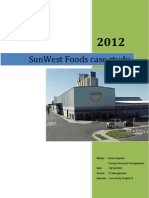 SunWest Foods IS strategy