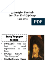 Spanish Period in the Philippines