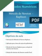 51111532 Metodo de Newton Raphson