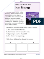 Storms Main Idea