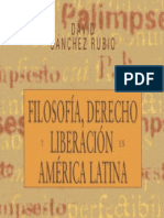 Filosofía, derecho y liberación en América Latina