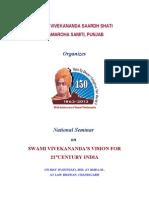 Swami Vivekananda Seminar PDF