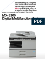 Midshire Business Systems - Sharp MX-B200 - Digital Multifunction System Brochure