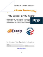 Essay Contest Packet 2010