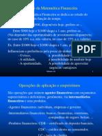 Módulo 02 - Objetivo e Aplicações da Mat Financeira