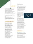 Jose Rizal Poems