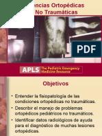 12 Emergencias Ortopédicas No Traumáticas
