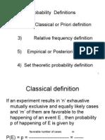 Probability L2 PT