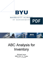 ABC Analysis for Inventory