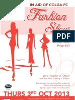 Fashion Show Details