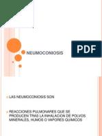 4.- NEUMOCONIOSIS