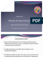 58343342 Metodo de Falsa Posicion