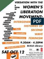 Women's Liberation Movement Poster
