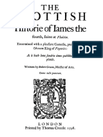 The Scottish History of James the Fourth by Robert Greene