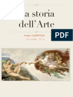 La storia dell'arte (classe quarta)