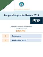 Paparan Mendikbud Sosialisasi Kurikulum 2013 Bandung 16 Maret 2013 Tayang