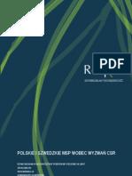 Polskie i szwedzkie MSP wobec wyzwań CSR