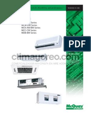 McQuay fan coil units | Air Conditioning | Mechanical Fan