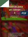Alonso-Bartol - Palabras Para Un Cuerpo
