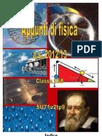 Appunti di fisica (classe seconda)