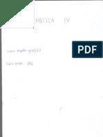 Appunti di matematica (classe quarta)