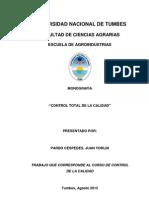 Monografia Control Total de La Calidad