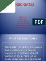 Logic Gates Ppt