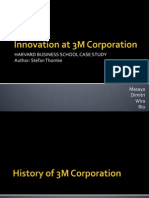 Innovation at 3M Corporation