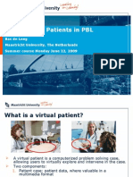 Using Virtual Patients in PBL