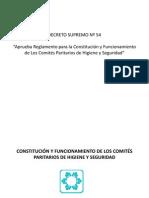 Constitucic3b3n y Funcionamiento Del Cphs