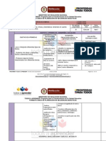 Planeación de Clase -Lenguaje y Matemática
