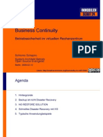 VMware Business Continuity und Disaster Recovery Lösungen