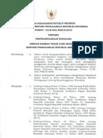 Permendag No. 53 Tahun 2012 Ttg Waralaba