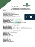 céspedes - fungicidas
