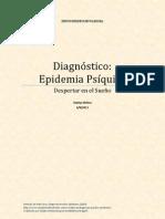 Diagnóstico Epidemia Psíquica - Artículo de Paul Levy