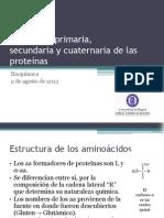 3.Estructura proteínas
