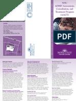 Adhd Brochure