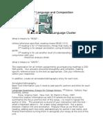 language cluster syll2014