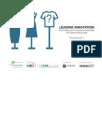 Leading Innovation - una mappa per l'innovazione aziendale nel sistema moda italia